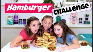 getlinkyoutube.com-The Hamburger Challenge 🍔  | Brooklyn and Bailey