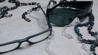 getlinkyoutube.com-DIY Collar para lentes/gafas- Necklace sunglasses