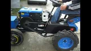 getlinkyoutube.com-Міні-трактор перероблений з мотоблока