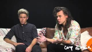One Direction Made in the AM Interview , Narry