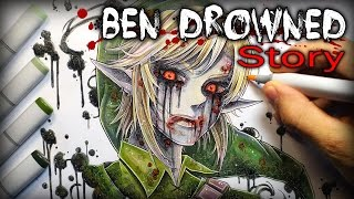 getlinkyoutube.com-Ben Drowned: STORY - Creepypasta + Drawing
