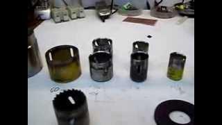 getlinkyoutube.com-Sacabocados hechos de herramientas de corte reciclados