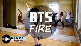 "getlinkyoutube.com-BTS ""Fire"" Dance Tutorial (Intro, Chorus, Quickstep)"