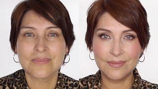 getlinkyoutube.com-Maquillaje Chic y Rejuvenecedor  -Pieles Maduras