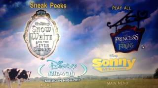 Sneak Peeks Menu From Hannah Montana The Movie DVD