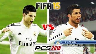 getlinkyoutube.com-FIFA 15 vs. PES 15: Celebrations