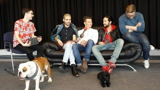 getlinkyoutube.com-Tokio Hotel Interview on @ESKA_pl Radio by Robert Choiński Berlin, Germany