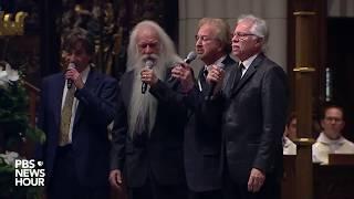 WATCH: Oak Ridge Boys sing 'Amazing Grace' at George H.W. Bush Houston funeral width=