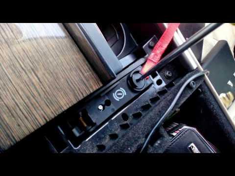 Ягуар XF аварийное включение нейтральной передачи при разряженом или отсутствующем АКБ