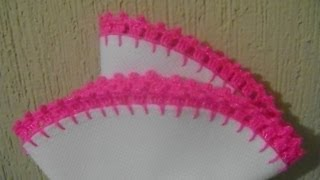 getlinkyoutube.com-PUNTILLA EN CROCHET ANEL  #1 CARPETA ROSA