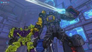 TRANSFORMERS: Devastation - Autobots v Devestator & Menasor Boss Battle [1080p 60FPS HD]