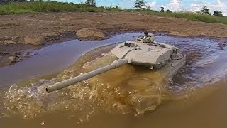 getlinkyoutube.com-RC tank Henglong Leopard 2A6 and ZTZ99