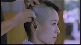 getlinkyoutube.com-尼僧 剃髪得度式⑤ 映画 日本人女性 Japanese nun headshave