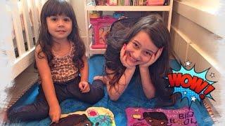 getlinkyoutube.com-Review: Toalhinha que Cresce na Água com Lulu Julia Silva