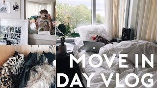 COLLEGE MOVE IN DAY VLOG 2016 // moving in and getting settled: Syracuse University