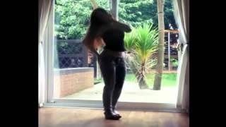 getlinkyoutube.com-Sexy Girl Struggles To Fit In Her Tight Jeans & Belly Play