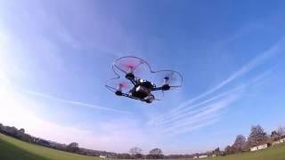getlinkyoutube.com-Eachine QX95 outdoor fpv test (Banggood)