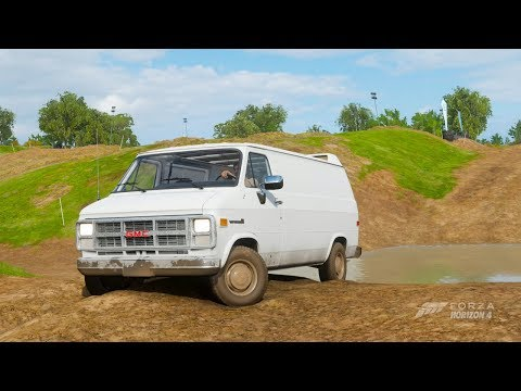 Forza Horizon 4| 250Hp 1983 GMC VANDURA G-1500 (Off Road)