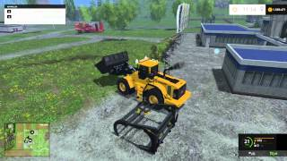 getlinkyoutube.com-Farming Simulator 2015 Volvo L180 F Loader Mod