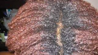 getlinkyoutube.com-Henna on Afro texture hair