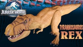 getlinkyoutube.com-Opening: Jurassic World TYRANNOSAURUS REX - Chomping T-REX