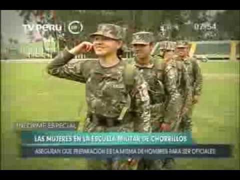 Escuela Militar de Chorrillos presenta las futuras mujeres oficiales