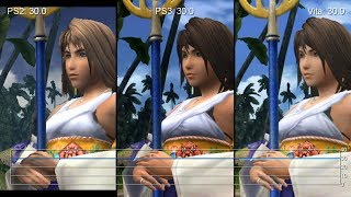 getlinkyoutube.com-Final Fantasy X/X-2 HD Remaster: PS3 vs. Vita vs. PS2 Frame-Rate Tests
