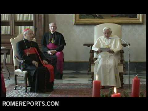 Pope receives Belarusian Bishops