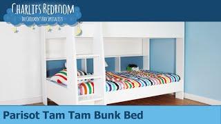 Parisot Tam Tam White Bunk Bed - Charlies Bedroom