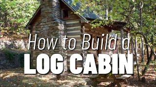 getlinkyoutube.com-How to Build a Log Cabin... part 1