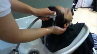 getlinkyoutube.com-How to shampoo in Japanese style