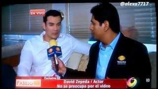 getlinkyoutube.com-David Zepeda habla sobre vídeo intimo NOTA de Edén Dorantes en Pasillo TV