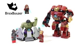 getlinkyoutube.com-Lego Super Heroes 76031 The Hulk Buster Smash - Lego Speed Build
