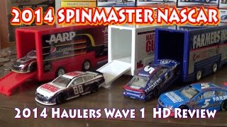 getlinkyoutube.com-2014 NASCAR Authentics: Wave 1 Haulers HD Unboxing and Review