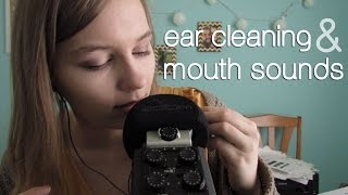 getlinkyoutube.com-ASMR Ear Cleaning & Mouth Sounds! Intense!