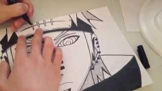 getlinkyoutube.com-Pain Speed-Drawing