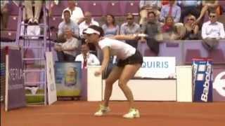 getlinkyoutube.com-Tsvetana Pironkova Hustles For Brussels Open Hot Shot