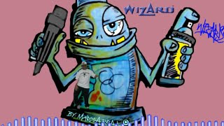 getlinkyoutube.com-How to draw graffiti characters ''Spraycan with Marker''Exzakt-( the future)-(N-ter Remix)