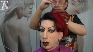 getlinkyoutube.com-I am who I am and I love it!  Dierk's SUPER PUNK Hairstyle by T.K.S.