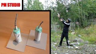 getlinkyoutube.com-Как сделать ракетницу из спичек и пистонов