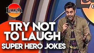 Try Not to Laugh | Superhero Jokes | Laugh Factory Stand Up Comedy