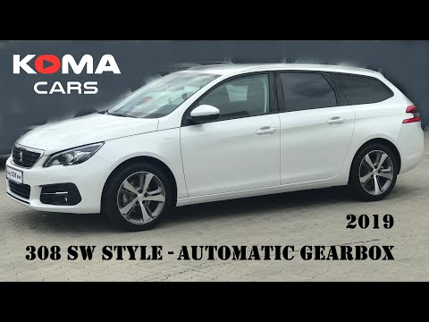 Peugeot 308SW 2019 (walkaround, interier, exterier, multimedia, trunk)