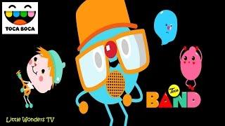 getlinkyoutube.com-TOCA BOCA | MUSIC APP FOR KIDS | TOCA BAND APP REVIEW | FULL GAME PLAY | HD