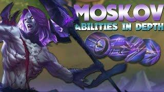 getlinkyoutube.com-Mobile Legends Moskov Abilities and How To Use Them!