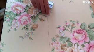 Yapışkan Folyo Uygulama - Adhesive Foil - клейкая фольга - adhésif Foil