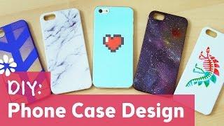 getlinkyoutube.com-5 DIY Phone Case Designs | Sea Lemon