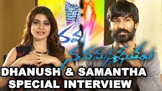 getlinkyoutube.com-Nava Manmadhudu Movie Special Interview || Dhanush, Samantha
