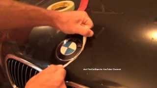 getlinkyoutube.com-BMW Hood Emblem Replacement DIY Roundel Replacement Made Easy