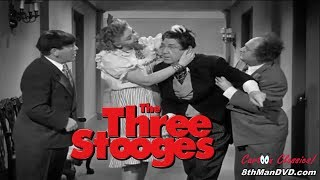 THE THREE STOOGES: Brideless Groom (1947) (Remastered) (HD 1080p)