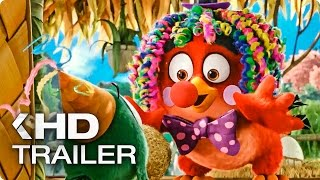 Angry Birds Movie ALL Trailer & Clips (2016)